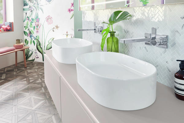 Collaro TitanCeram Thin Edge Vessel Basins